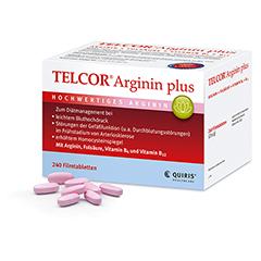 TELCOR Arginin plus Filmtabletten 240 Stück