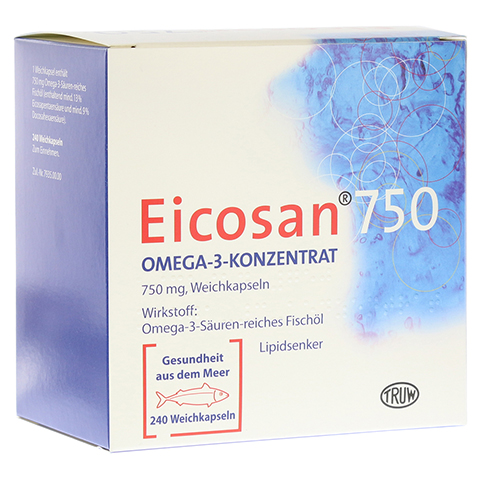 Eicosan 750 Omega-3-Konzentrat 240 St�ck