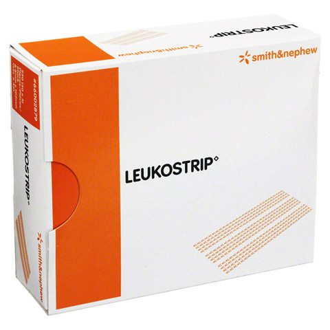 LEUKOSTRIP Wundnahtstreifen 6,4x102 mm Box 50x5 Stück