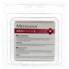 MEDISANA Meditouch 2 Teststreifen 2x25 Stück - Rückseite