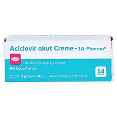 Aciclovir akut Creme-1A Pharma 2 Gramm N1 - Vorderseite