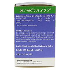 PC MEDICUS 2.0S magensaftresistente Kapseln 180 Stück - Linke Seite