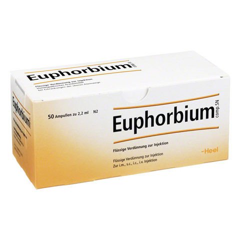 EUPHORBIUM COMPOSITUM SN Ampullen 50 St�ck N2