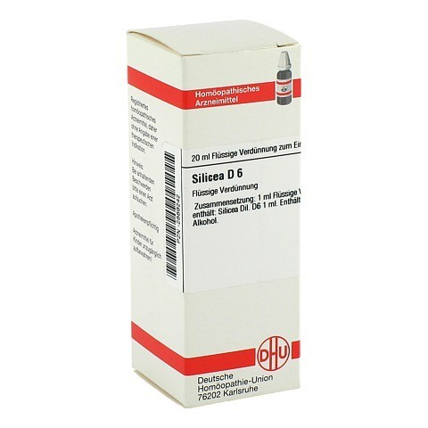 SILICEA D 6 Dilution 20 Milliliter N1