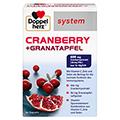 DOPPELHERZ Cranberry Granatapfel system Kapseln 60 Stück
