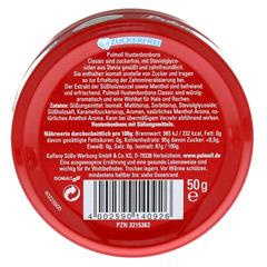 PULMOLL Hustenbonbons zuckerfrei 50 Gramm - R�ckseite