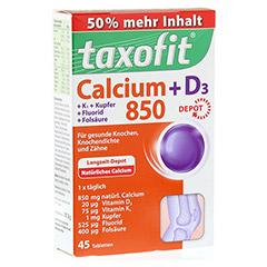 TAXOFIT Calcium 850+D3 Depot Tabletten 45 Stück