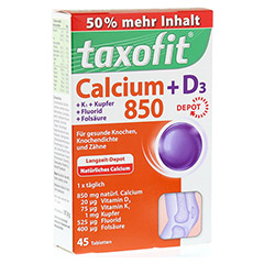 TAXOFIT Calcium 850+D3 Depot Tabletten 45 St�ck