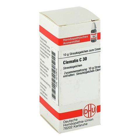 CLEMATIS C 30 Globuli 10 Gramm N1