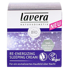 LAVERA Re-Energizing Sleeping Cream 50 Milliliter - Vorderseite