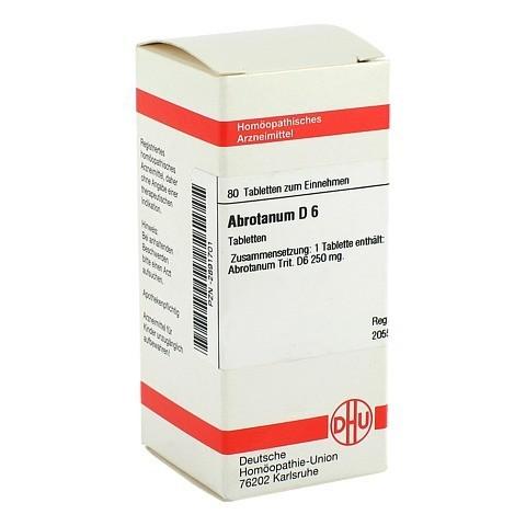 ABROTANUM D 6 Tabletten 80 St�ck N1