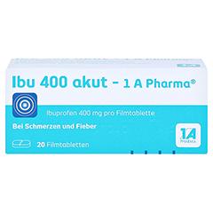 Ibu 400 akut-1A Pharma 20 St�ck - Vorderseite