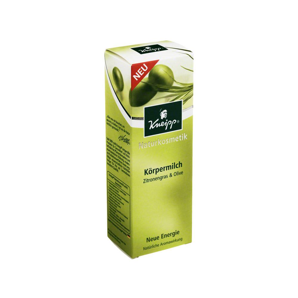 kneipp k rpermilch zitronengras olive 200 milliliter online bestellen medpex versandapotheke. Black Bedroom Furniture Sets. Home Design Ideas