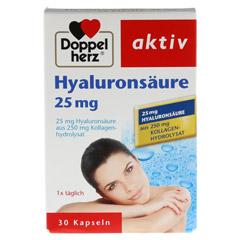 DOPPELHERZ Hyaluronsäure 25 mg Kapseln 30 Stück - Vorderseite