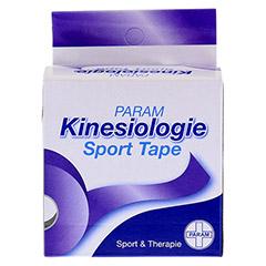 KINESIOLOGIE Sport Tape 5 cmx5 m violett 1 Stück - Vorderseite