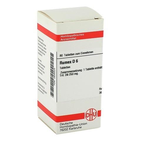 RUMEX D 6 Tabletten 80 St�ck N1