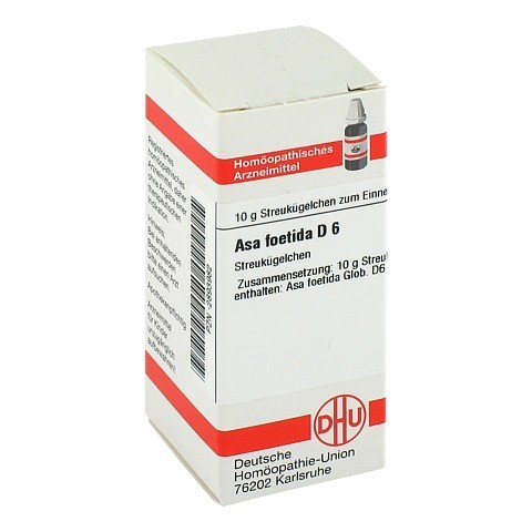 ASA FOETIDA D 6 Globuli 10 Gramm N1