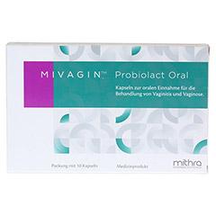 MIVAGIN Probiolact Oral 10 St�ck - Vorderseite