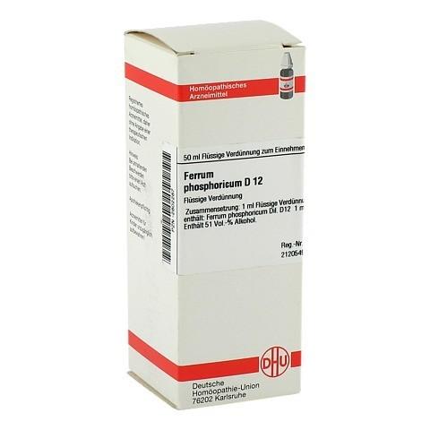 FERRUM PHOSPHORICUM D 12 Dilution 50 Milliliter N1