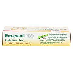 EM EUKAL PRO Halspastillen Lindenblütenhonig 30 Stück - Oberseite