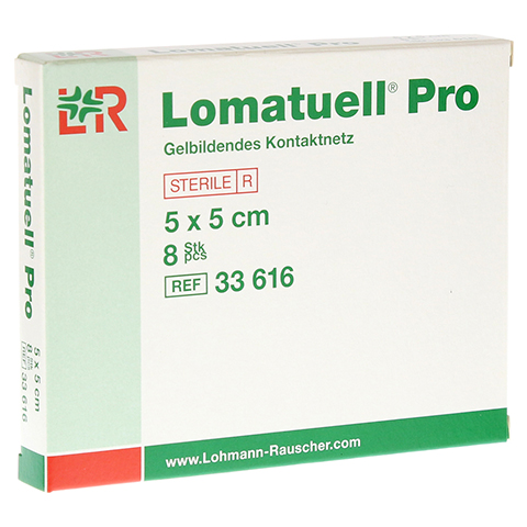 LOMATUELL Pro 5x5 cm steril 8 Stück