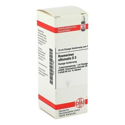 ROSMARINUS OFFICINALIS D 3 Dilution 20 Milliliter N1