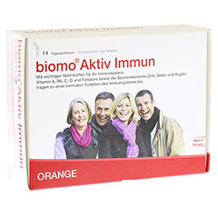 BIOMO Aktiv Immun Trinkfl.+Tab.14-Tages-Kombi 1 Packung