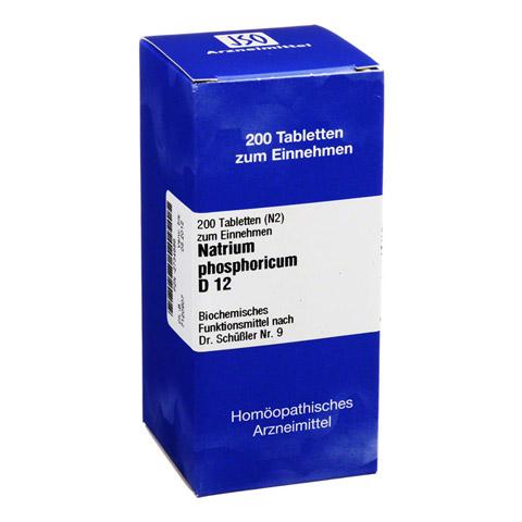 BIOCHEMIE 9 Natrium phosphoricum D 12 Tabletten 200 St�ck N2