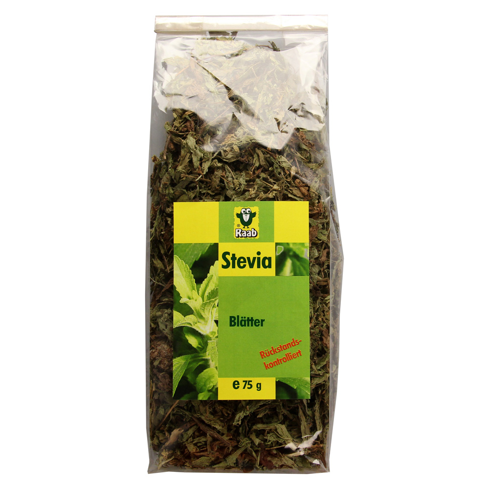 stevia bl tter raab 75 gramm online bestellen medpex versandapotheke. Black Bedroom Furniture Sets. Home Design Ideas