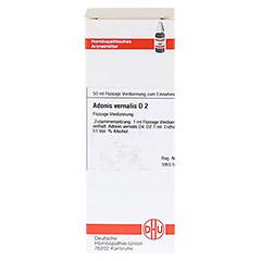 ADONIS VERNALIS D 2 Dilution 50 Milliliter N1 - Vorderseite