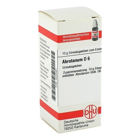 ABROTANUM D 6 Globuli 10 Gramm N1