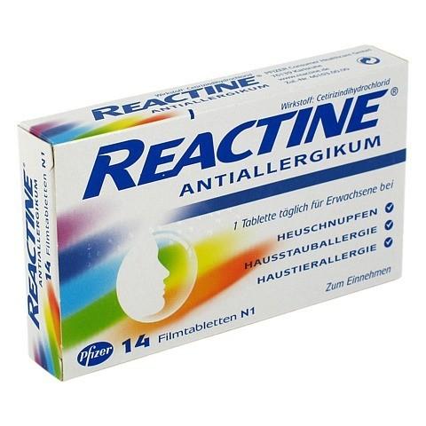 Reactine 14 Stück
