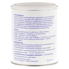 Tannolact 40% Badezusatz Dose 150 Gramm N2 - Rückseite
