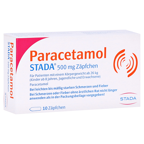 Paracetamol STADA 500mg 10 Stück N1