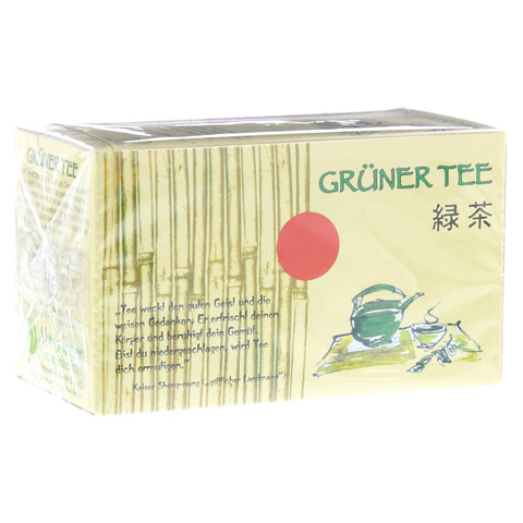 GRÜNER TEE Filterbeutel 20 Stück
