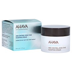 Ahava Age Control Even Tone Sleeping Cream 50 Milliliter
