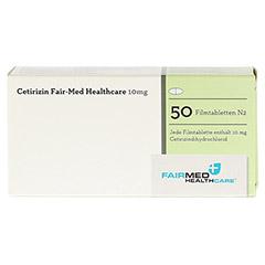 Cetirizin Fair-Med Healthcare 10mg 50 Stück N2 - Rückseite