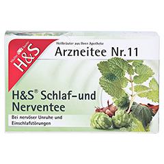 H&S Schlaf-und Nerventee 20 Stück - Vorderseite