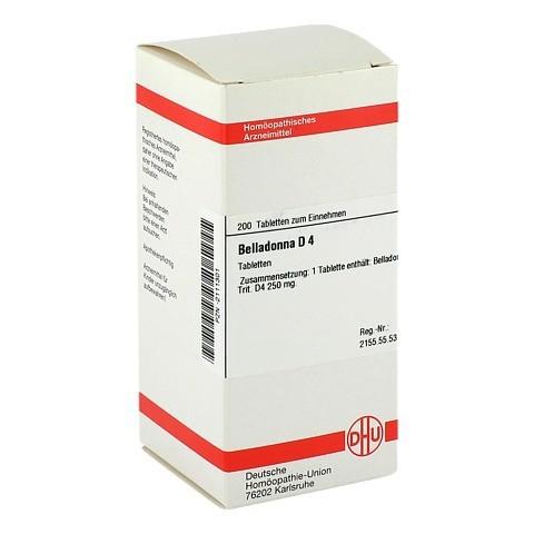 BELLADONNA D 4 Tabletten 200 Stück N2