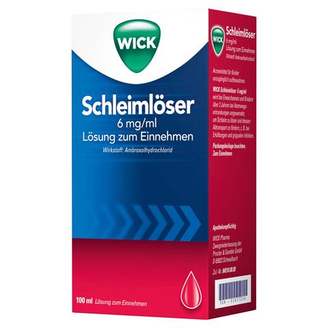 WICK Schleimlöser 6mg/ml Lösung zum Einnehmen 100 Milliliter N1