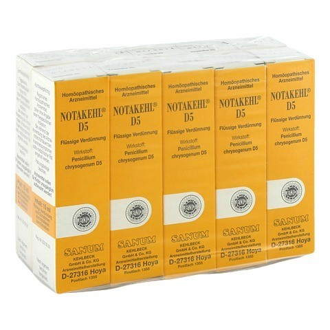 NOTAKEHL D 5 Tropfen 10x10 Milliliter N2