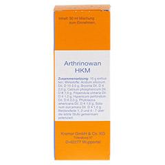 ARTHRINOWAN HKM Tropfen 50 Milliliter N1 - Vorderseite