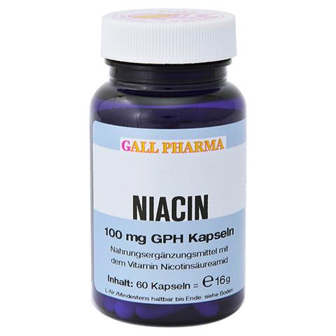 NIACIN 100 mg GPH Kapseln 60 Stück