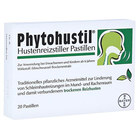 PHYTOHUSTIL Hustenreizstiller Pastillen 20 Stück