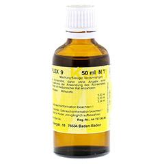 MERIDIANKOMPLEX 9 Tropfen zum Einnehmen 50 Milliliter N1 - R�ckseite