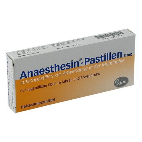 Anaesthesin 20 St�ck N1