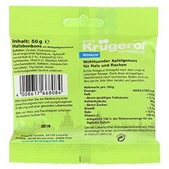 KR�GEROL Halsbonbons Wildapfel 50 Gramm - R�ckseite