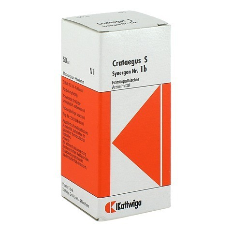 SYNERGON KOMPLEX 1 b Crataegus S Tropfen 50 Milliliter N1