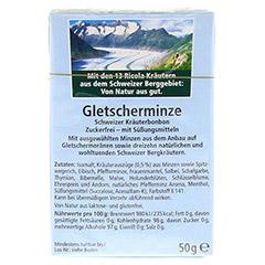 RICOLA o.Z. Box Gletscherminze 50 Gramm - Rückseite