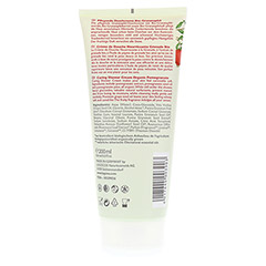 LOGONA Duschcreme Granatapfel 200 Milliliter - Rückseite